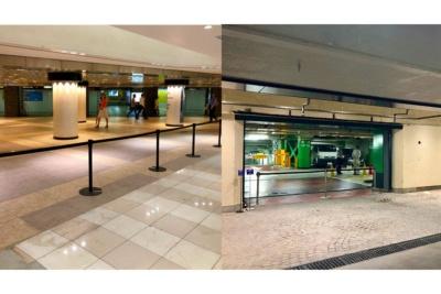 銀座駅コンコースに直結する地下2階と、銀座・有楽町・新橋エリア最大級の公共駐車場である西銀座駐車場と直結の地下3階からもダイレクトにアクセスできる。地下1〜4階はエレベーターもある