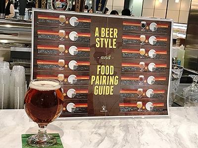 クラフトビールバー「アンテナアメリカ」のおすすめ「SIERRA NEVADA」のペールエール(800円)。同店では全米に4000社以上あるクラフトビールメーカーから全米トップランクの人気商品をそろえ、完全チルド配送で現地そのままの味わいを提供するという