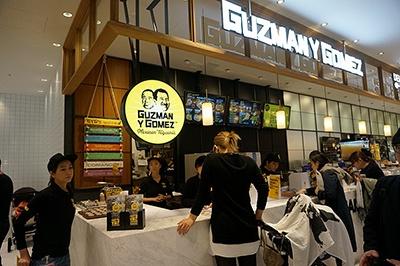 オーストラリア発のメキシカンダイナー「Guzman y Gomez(グズマン イー ゴメズ)」は国内3店目。フレッシュな食材とハンドメイドを重視したウェルネス志向のファストフードとして人気