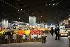 地元立川に本社を置く「いなげや」が展開するスーパーマーケット「ブルーミングブルーミー」
