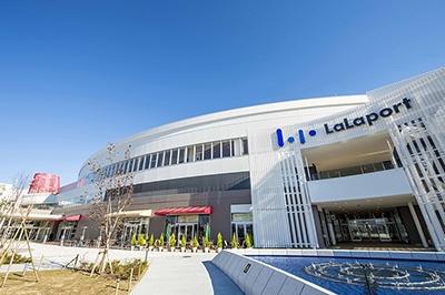 「三井ショッピングパーク ららぽーと立川立飛」は敷地面積約9万4000平米、店舗面積は約6万平米