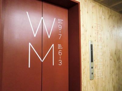 3~6階が男性用フロアで、7~9階が女性用フロアという作り。女性用フロアは専用の鍵で開ける仕組みになっている