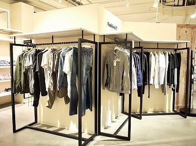 1階ファッションゾーンには「マスターマインド」をはじめ、メンズストリートブランドが充実