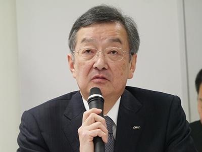 シャープの高橋興三社長