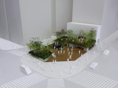 公開されているソニーパークの模型