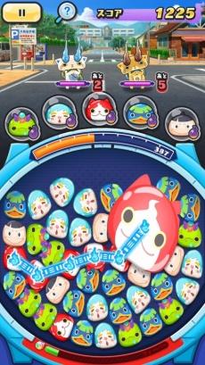 『妖怪ウォッチ ぷにぷに』。iOS/ Android向けに配信されている人気キャラクターを使ったパズルゲーム (c)LEVEL-5 Inc. (c) NHN PlayArt Corp.