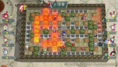 『スーパーボンバーマン R』 (C)Konami Digital Entertainment