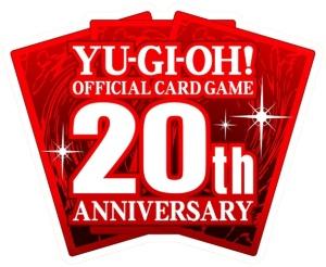『遊戯王オフィシャルカードゲーム』20th ANNIVERSARYのロゴ