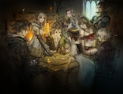 『Project OCTOPATH TRAVELER(プロジェクト オクトパストラベラー)』<br>(C) SQUARE ENIX CO., LTD. All Rights Reserved.
