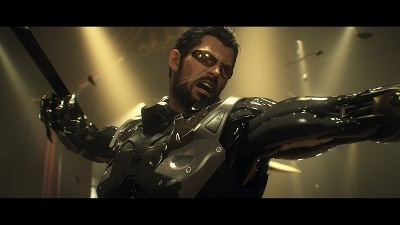『デウスエクス マンカインド・ディバイデッド』<br>Deus Ex: Mankind Divided (C) 2017 Square Enix Ltd. All rights reserved. Developed by Eidos-Montreal. Deus Ex: Mankind Divided, Eidos-Montreal, and the Eidos logo are trademarks or registered trademarks of Square Enix Ltd.