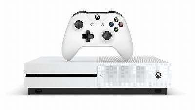 2016年11月24日に発売された「Xbox One S」。コンパクトな筐体と、4K映像のストリーミングやUltra HD Blu-Rayディスクが再生できる機能などで人気に