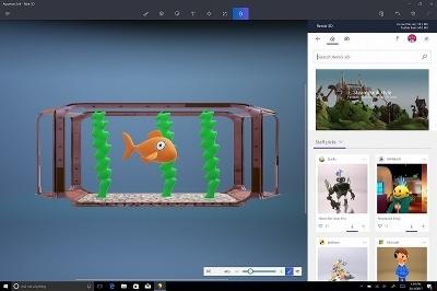 Windows 10 Creators Updateで3Dの制作も簡単に行えるようになった