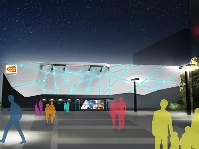 7月14日にオープン予定のVR施設「VR ZONE SHINJUKU」。敷地面積は1100坪(約3500平米)でVRアミューズメント施設としては国内最大規模