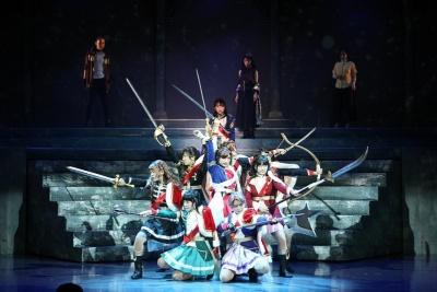 2018年1月に再演した『「少女☆歌劇 レヴュースタァライト ―The LIVE―」#1 revival』 (C) Project Revue Starlight