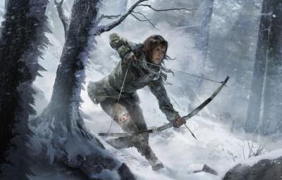 『ライズ オブ ザ トゥームレイダー』 Tomb Raider (C) Square Enix Ltd. 2016. Published by Square Enix Co., Ltd. Square Enix and the Square Enix logo are registered trademarks of Square Enix Holdings Co., Ltd. Lara Croft, Tomb Raider, Crystal Dynamics, the Crystal Dynamics logo, Eidos, and the Eidos logo are trademarks of Square Enix Ltd.