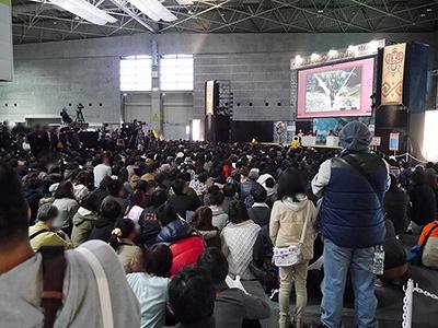 モンスターハンターフェスタ'16(大阪大会)の様子<br>写真:カプコン提供