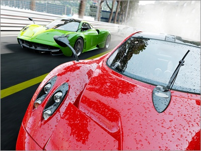 『Project CARS』<br>World Of Mass Development, Slightly Mad Studios, Project CARS, the WMD logo, the SMS logo, and the Project CARS logo are trademarksor registered trademarks of Slightly Mad Studios Limited in the United Kingdom and/or other countries. (C) 2016 Project Cars Next Gen Development LLP. Game development and technology provided by Slightly Mad Studios. The names, designs, and logos of all products are the property of their respective owners and used by permission. Published and Distributed by BANDAI NAMCO Entertainment Europe S.A.S. and its subsidiaries. All rights reserved.Developed by Slightly Mad Studios. Made in Austria. All Rights Reserved.