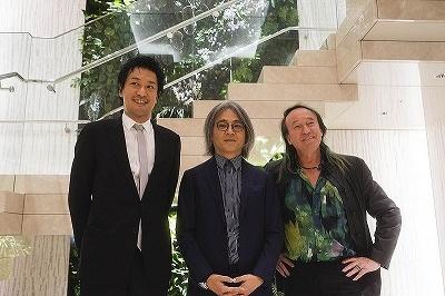 (左から)チームラボの猪子寿之氏、JTQの谷川じゅんじ氏、パトリック・ブラン氏