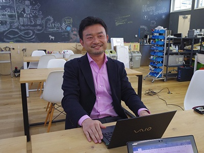 SAPを統括する新規事業創出部担当部長の小田島伸至氏