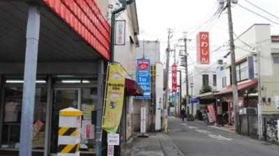 駅近くにはいくつか商店街があるので、そこをブラブラ歩いてみるのもよい