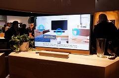 液晶テレビや同社製サウンドバーへの再生を、Google Homeを通じて音声で指示できる