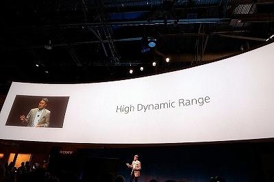 キーワードとして掲げられた「High Dynamic Range(HDR)」