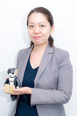 景井美帆氏<br>シャープ IoT通信事業本部 コミュニケーションロボット事業推進センター 商品企画部 チームリーダー