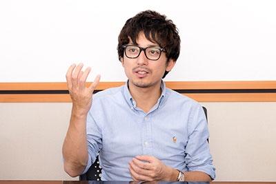 VRのキラーコンテンツを常に考えている~コロプラ 小林傑氏(画像)