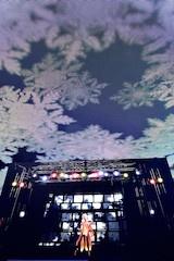 天井の視覚効果もあいまって、なんとも幻想的なライブステージとなっていた