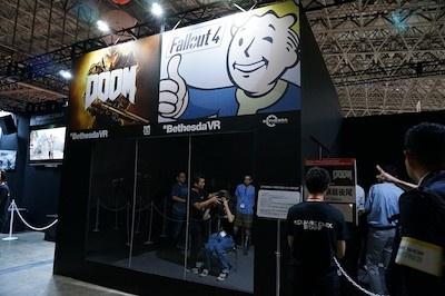 Bethesda Game Studioの『Fallout 4』とid Softwareの『DOOM』がVRで遊べる