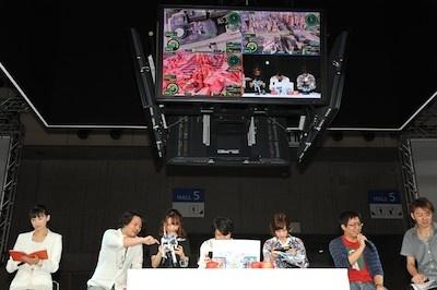 瀬戸さんや内田さん、鈴木さんがプレー
