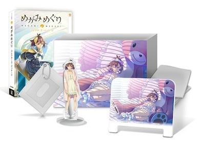 特典が満載の限定版も発売される。写真はオリジナルアートボックスやオリジナルパスケース、ゲーム上の限定衣装がセットになったイーカプコン限定版『めがみめぐり COMPLETE EDITION』9800円(税別)。<br>(c)CAPCOM CO., LTD. ALL RIGHTS RESERVED.