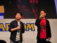 シリーズプロデューサーの川田将央氏(左)とプロデューサーの神田剛氏(右)