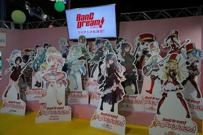 ゲームに登場する新キャラたちもパネルで東京ゲームショウに集結