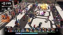 クラン同士の抗争では100超vs.100超の戦いが繰り広げられる。すべてのキャラクターはAIで動いており、ちゃんとバトルする