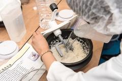 洗米は軟水を使用