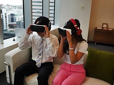 「すぐ婚VR」の体験イメージ