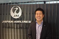 JALの宣伝部企画媒体グループの波多野力主任