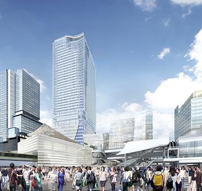 地上47階、高さ約230メートルからなる東棟の屋上には日本最大級の屋外展望台も設置される(提供:渋谷駅前エリアマネジメント協議会)
