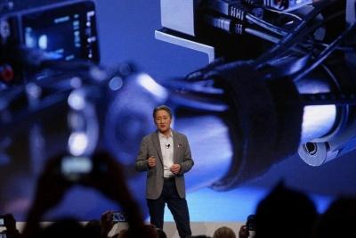 CES 2018プレスカンファレンスに登壇したソニーの平井社長