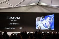 4K 有機ELテレビの2018年モデル「A8F」を発表