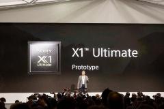 現行の「X1 Extreme」の約2倍のリアルタイム画像処理能力を持つ8K対応プロセッサ「X1 Ultimate」