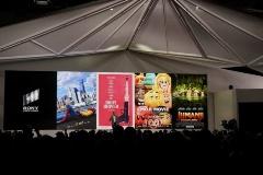 2017年のヒットとされたのがスライドの映画4タイトルと『ブレードランナー2049』