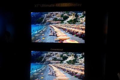 「X1 Ultimate」を4K映像に適用しても非常に高画質