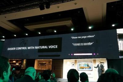 薄型テレビとして新機軸を示すのはAIへの対応だ