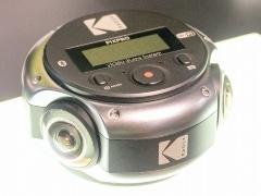 Kodakの全天球カメラのプロトタイプ