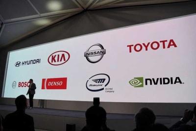 ソニーが車載用イメージセンサーを供給して、ともに自動運転車を開発するパートナーが紹介された