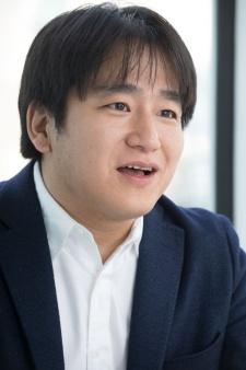 小竹讃久氏。「GREE Platform」を管轄する