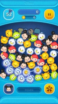 人気タイトル『LINE:ディズニー ツムツム』をFacebookのインスタントゲームとして海外市場で提供する予定もある(開発:NHN PlayArt 運営:LINE)(C)Disney (C)Disney/Pixar