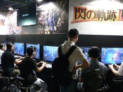 日本ファルコムの人気シリーズ、『英雄伝説 閃の軌跡III』は今年もKONAMIブースより出展